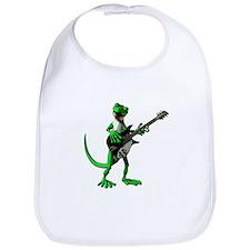 Electric Guitar Gecko Bib