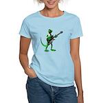 Electric Guitar Gecko Women's Light T-Shirt