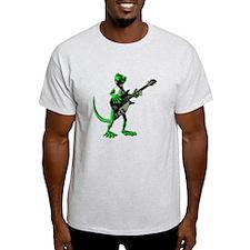 Electric Guitar Gecko T-Shirt