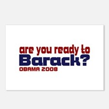 Are you ready to Barack Postcards (Package of 8)