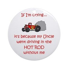 Hot Rod Cry - Uncle Ornament (Round)