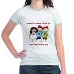 CHD Kids died Jr. Ringer T-Shirt