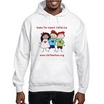 CHD Kids died Hooded Sweatshirt