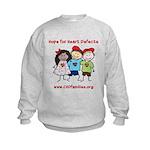 CHD Kids died Kids Sweatshirt