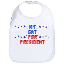 Cat PRESIDENT Bib