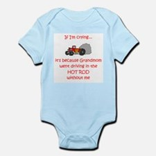 Hot Rod Cry - Grandmom Infant Bodysuit