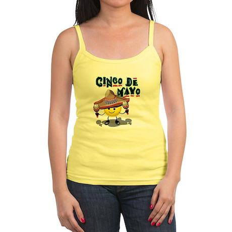 Cinco de Mayo Smiley Jr. Spaghetti Tank