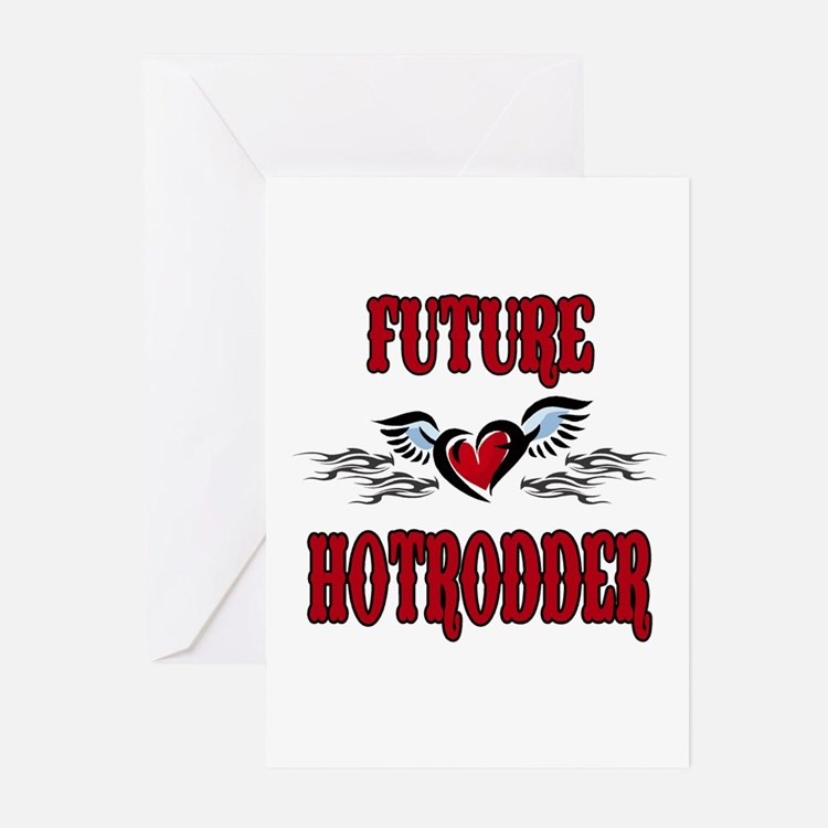 Future Hotrodder Red Greeting Cards (Pk of 20)