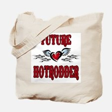 Future Hotrodder Red Tote Bag