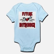 Future Hotrodder Red Infant Bodysuit