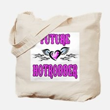 Future Hotrodder Pink Tote Bag