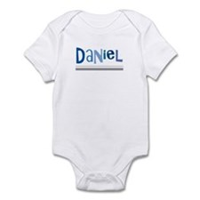 (any name) shades of blue siv Infant Bodysuit