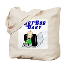 Hot Rod Baby Blue Tote Bag