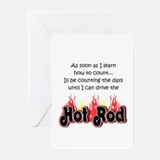 Hot Rod Baby Count Greeting Cards (Pk of 20)