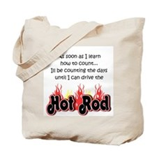 Hot Rod Baby Count Tote Bag