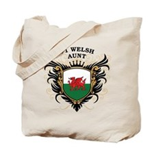 Number One Welsh Aunt Tote Bag
