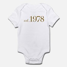 Est. 1978 (30th Birthday) Infant Bodysuit