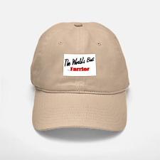 """""""The World's Best Farrier"""" Baseball Baseball Cap"""