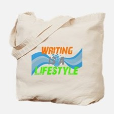 Writing is a lifestyle Tote Bag