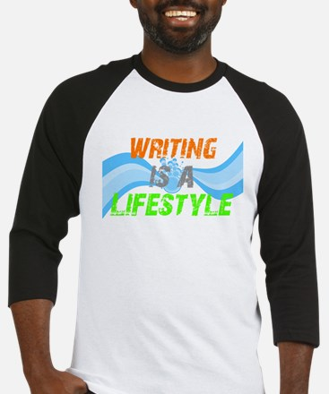Writing is a lifestyle Baseball Jersey