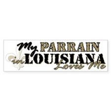 My Parrain in LA Bumper Bumper Sticker