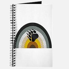 BEAR PRIDE RAINBOW/BRICK Journal