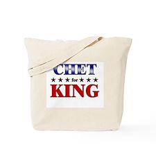CHET for king Tote Bag