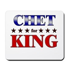 CHET for king Mousepad