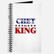 CHET for king Journal