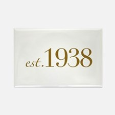 Est. 1938 (70th Birthday) Rectangle Magnet
