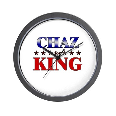 CHAZ for king Wall Clock