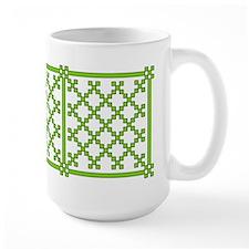 mod irish quilt Mug