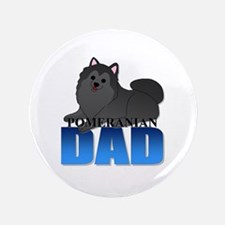 "Pomeranian Dad 3.5"" Button (100 pack)"