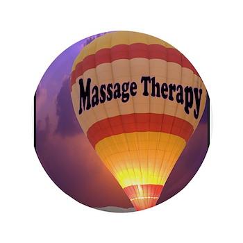 "Hot Air Balloon Massage Thera 3.5"" Button"
