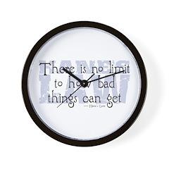Hane's Law Wall Clock