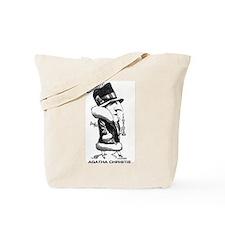 Agatha Christie Tote Bag