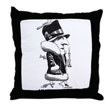 Agatha Christie Throw Pillow