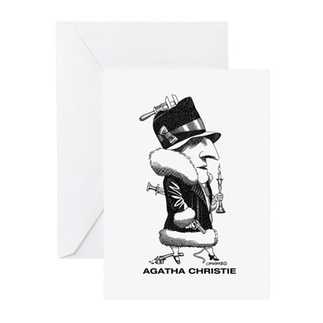 Agatha Christie Greeting Cards (Pk of 20)