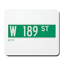 189th Street in NY Mousepad