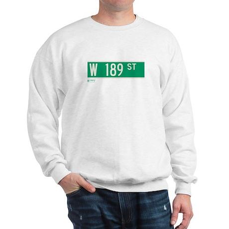 189th Street in NY Sweatshirt