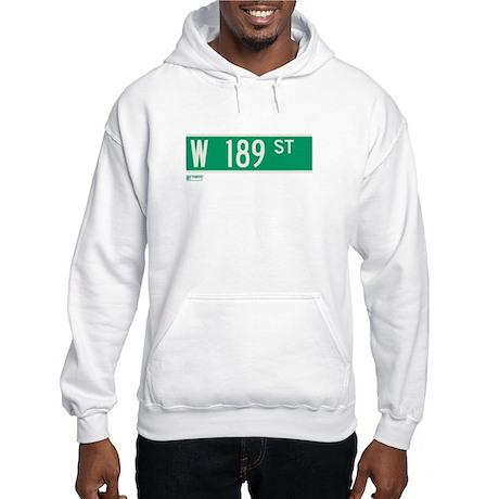 189th Street in NY Hooded Sweatshirt