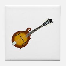 Just Mandolin Tile Coaster