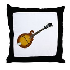 Just Mandolin Throw Pillow