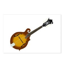 Just Mandolin Postcards (Package of 8)