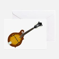 Just Mandolin Greeting Card