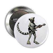 "Lemur Guitar 2.25"" Button"