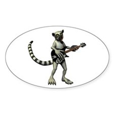 Lemur Guitar Decal