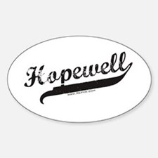 Hopewell Oval Decal