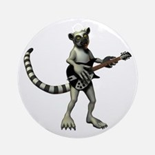 Lemur Guitar Ornament (Round)