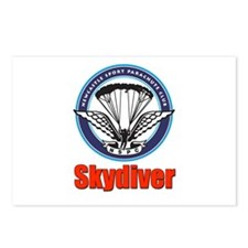 Skydiver Postcards (Package of 8)